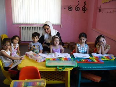 سحر بسحق - کلاس موسیقی کودکان