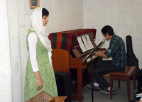 کنسرت هنرجويان آموزشگاه 13مرداد 1390