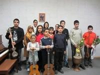 کنسرت هنرجویان آموزشگاه 16 آذر 1391