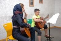 کنسرت هنرجویان گیتار خانم نوتاش و خیابانی 1خرداد 1393
