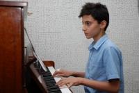 کنسرت پیانو کلاس های آقای قربانی و خانم کرم رودی - 8 تیرماه 1394