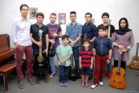 هنرجویان کلاس گیتار پاپ و الکتریک آقای سینا موسوی