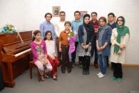 هنرجویان پیانو آقای رمضانیان