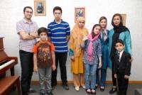 برخی از هنرجویان خانم سارا رضا زاده و آقای بامداد ملکی